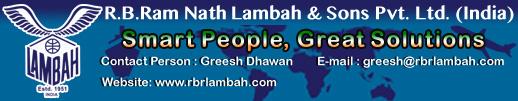 R.B.RAM NATH LAMBAH AND SONS PVT.LTD.