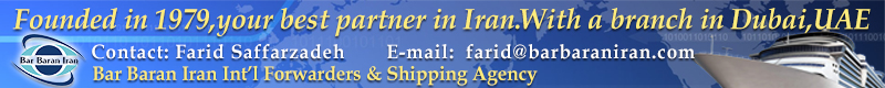 Bar Baran Iran Int'l Forwarders & Shipping Agency