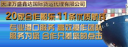 天津万盛鑫达国际货运钱柜777老虎机有限公司