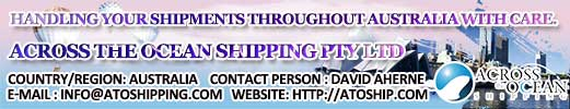 Across the Ocean Shipping Pty Ltd Australia