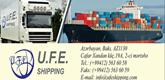 U.F.E shipping