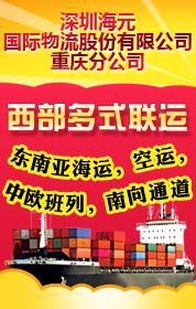深圳海元国际物流股份有限公司重庆分公司