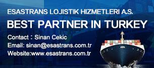 ESASTRANS LOJISTIK HIZMETLERI A.S.