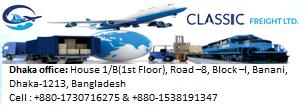 Classic Freight Ltd.