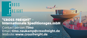 """CROSS FREIGHT""Internationale Speditionsges.mbH"